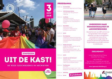 Symposium Uit De Kast 3 November Coc Tilburg Breda En