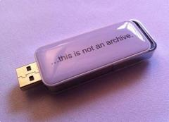 Usb-stick is geen archief
